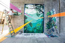 the law of art comstock s magazine anthony padilla has been spray painting murals since 1995 he snagged his first job at