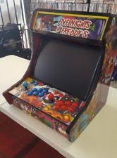 Bar Top Arcade Cabinet Arcade Cabinet Ebay