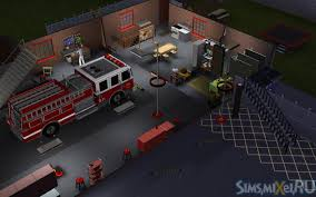 fire station the sims wiki fandom powered by wikia