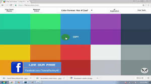 how to copy any color code from million sources and paste adobe