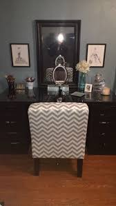 Call Vanity Makeup Vanity Made From 2 Alex Ikea Brown Black Drawers A Table