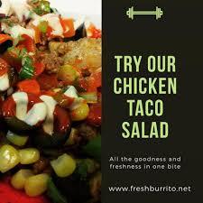 fresh burrito home kitchener ontario menu prices
