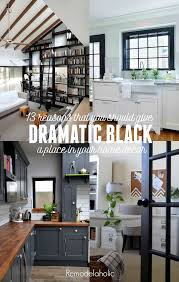 should baseboards match kitchen cabinets remodelaholic decorating with black 13 ways to use