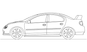 family car side view realistic car draw wallpaper 2000x1200
