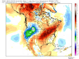 National Temperature Map Long Range Outlook Epawa