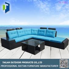Sofa Wholesale Outdoor Furniture High Back Rattan Sofa Set Outdoor Furniture
