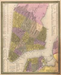 Maps Of New York by File 1850 Mitchell Map Of New York City Geographicus