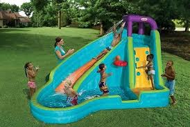 Water Slide Backyard by Inflatable Water Slide Playground Park Backyard Swimming Pool