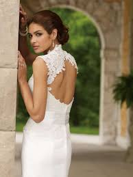 key back wedding dress picture of charming keyhole back wedding dresses