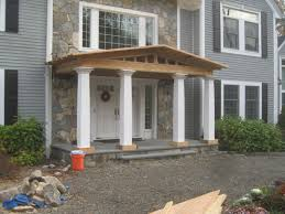 hand crafted front porch remodel bedford ny by studio two design