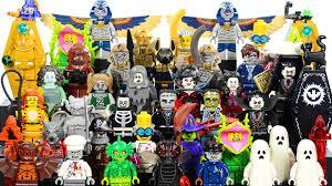 halloween monsters lego monsters 71010 minifigures series 14 halloween trick or