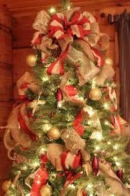 christmas tree ribbon decoration ideas cheminee website
