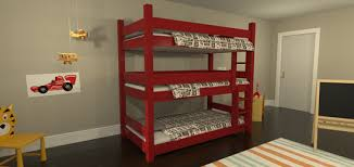 Plans For Triple Bunk Beds by Wooden Triple Bunk Bed Triple Bunk Bed Design As Amazing Bed For