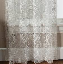macrame lace curtain panels home design ideas