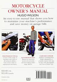 buy motorcycle owner u0027s manual book online at low prices in india