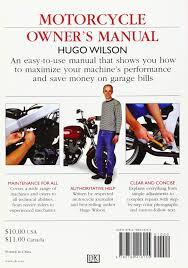 motorcycle owner u0027s manual hugo wilson 8601300493558 amazon com