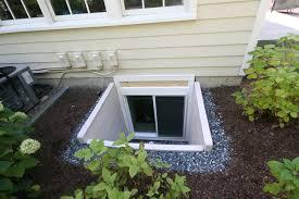 Basement Well Windows - small basement egress window well u2014 new basement and tile