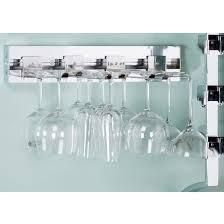 mountable wine glass rack 8326