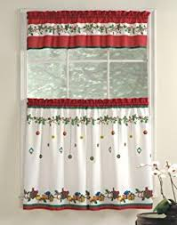 Lorraine Curtains Amazon Com Lorraine Home Fashions Holly Valance 56 By 12 Inch