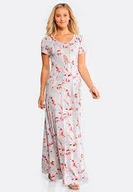 floral maxi dress plus size seamed floral maxi dress maxi cato fashions