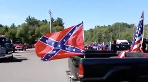 Us Confederate Flag Man With Confederate Flag On Truck Arrested For Trying To Run Down