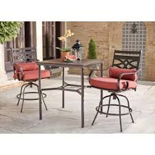 High Patio Dining Set Hton Bay Middletown 3 Motion High Patio Dining Set D11200