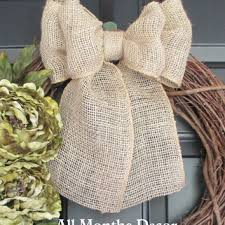 bows for wedding chairs best burlap wedding bows for pews products on wanelo