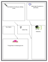 classroom video note taking worksheet by sarah baker tpt