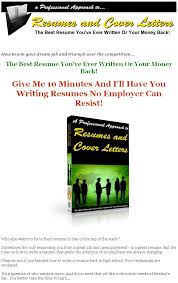 Best Resume Ever Written by Resume And Cover Letters Plr Ebook