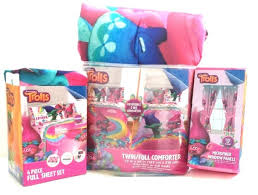 Girls Bed In A Bag by New Dreamworks Trolls