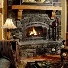 download wallpaper 1024x1024 fireplace chair comfort evening