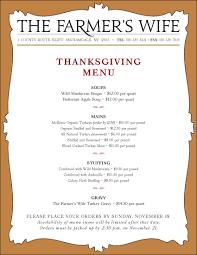 10 best photos of traditional thanksgiving dinner menu list