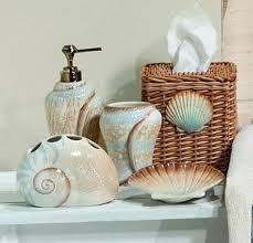 seashell bathroom decor ideas gorgeous bathroom decorating ideas with seashells design 2017 2018