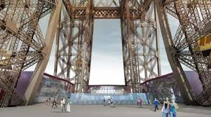eiffel tower interior designswelove the eiffel tower s first floor to receive a new look
