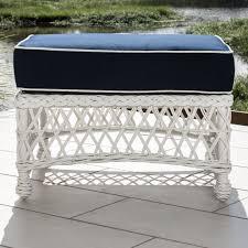 resin wicker ottoman furniture ideas