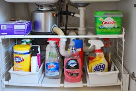 kitchen organizer under sink storage bathroom awesome sinks