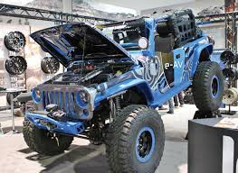 electric jeep 2016 sema show pictorial preview atv illustrated