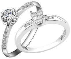 difference between engagement and wedding ring difference between platinum and white gold rings