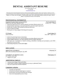 resume objective for patient service representative cover letter resume sample for dental assistant resume objective cover letter resume template dental resume objective s rep experience certified assistant examples job description for