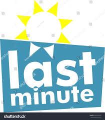 sun logo last minute flat stock vector 686295403