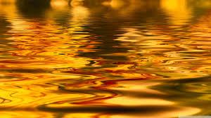 golden water hd desktop wallpaper widescreen high definition