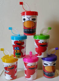 favor cups elmo personalized party favor cups elmo party favors sesame