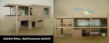 Modern Dollhouse Furniture Sets by Modern Mini Houses