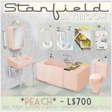 Peach Bathroom Accessories by Second Life Marketplace Artilleri Stanfield Bathroom Peach