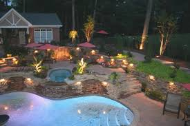 Outdoor Backyard Lighting Outdoor Backyard Lighting Ideas Best Of Luxurious Landscape