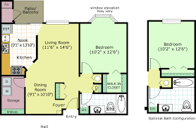 one madison floor plans 1 and 2 bedroom apartments in farmington hills muirwood