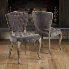 Tufted Dining Chair Set Bates Tufted Dining Chairs Set Of 2 By Christopher Home
