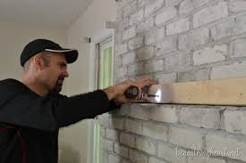 How To Lay Brick Fireplace by How To Build A Fireplace Surround Beneath My Heart