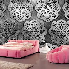 texture tracery metal wallpapers papel de parede bar coffee shop