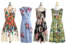 wedding wednesday floral dresses to wear to spring u0026 summer